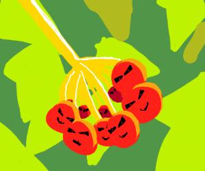 mutant cranberry bush