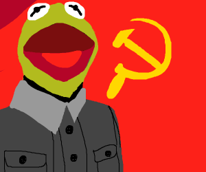Kermit is now communistic