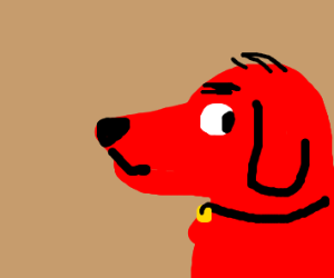 dog with a red head
