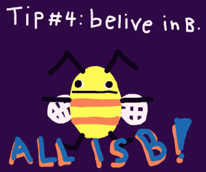Tip #3 : Don't always believe the D.
