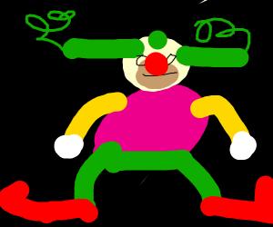 Krusty the clown (Simpsons)