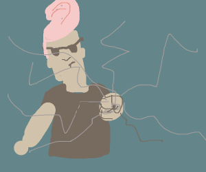 Johnny Bravo punches your screen