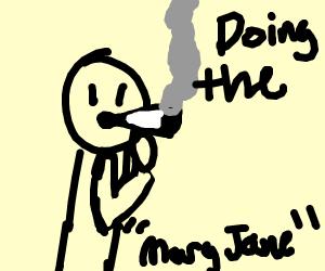 Doing the drug