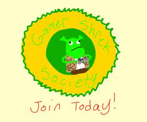 Gamer Shrek Society