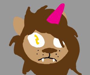 Unicorn lion
