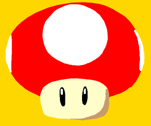 Mario mushroom - Drawception