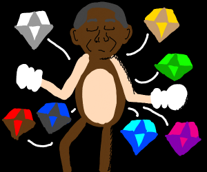 Barack Obama has all the Chaos Emeralds
