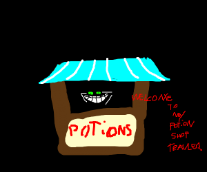 WELCOME TO MY POTION SHOP!