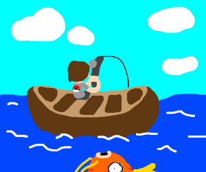 fishing in pokemon