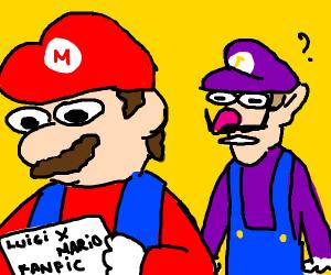 Waluigi is confused for Mario