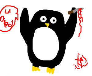 a murder that is a penguin