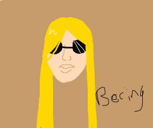 bland blind blond