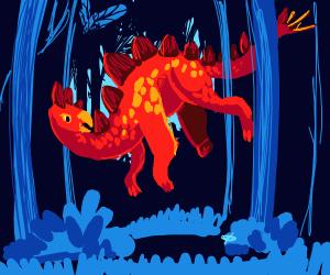 Me, an intellectual: stegosauruses flied