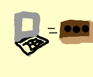 Laptop = brick