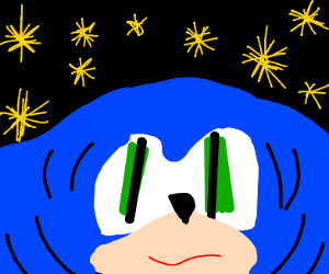 Sonic, but thicc