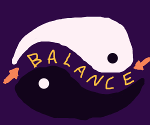 Finding balance in the spaces between