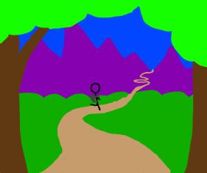 Hike Purple mountain