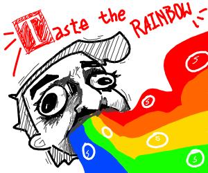 skittles are tasty (taste the rainbow)