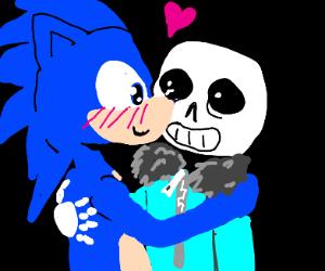 Sonic X Sans ship