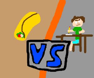 Burrito vs Writer