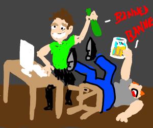 Drunk Mods Ban Everyone