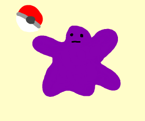 Catching a ditto (Pokemon)