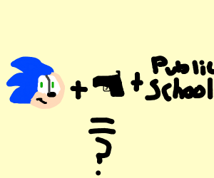 Sonic Kashoots up a school