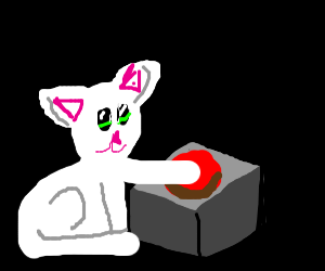 Animal Presses Red Button