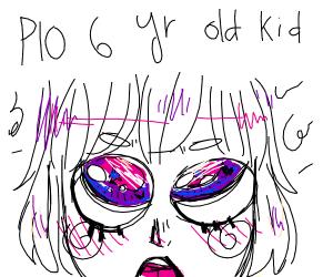 PIO 6 yr old kid