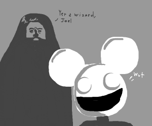 Hagrid meets Deadmau5
