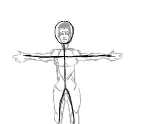 detailed stickman