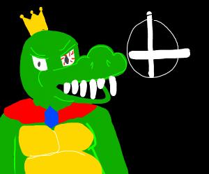 King K Rool gets into smash