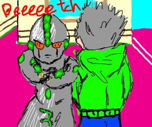 """Space man says """"Beeeeeeeeeeetch"""""""
