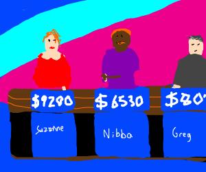 Jeopardy   N I B B A