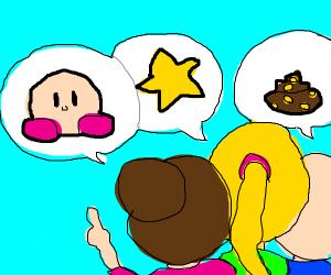 Is it a Kirby? Is it a star? Is it a poop?