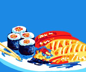 Sushi :p