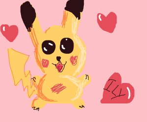 Pikachu wuvs you!