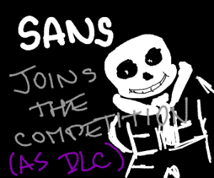 Sans confirmed as DLC for Smash