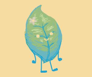 leaf lady