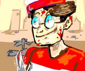 waldo on a killing spree