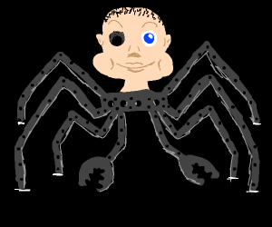 Robot Spider Baby From Toy Story Drawing By Anasmations Drawception