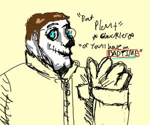 """""""Eat Pant"""" - Sans Griffin"""