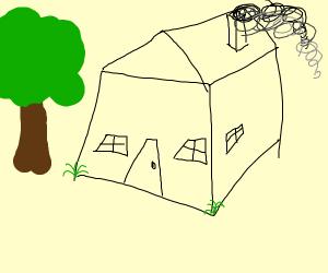 weird 3d house
