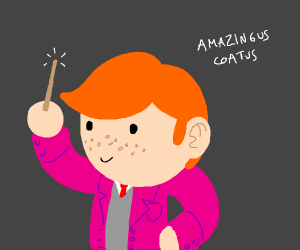 Ron Weasley has a new jacket