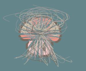 A mushroom explosion