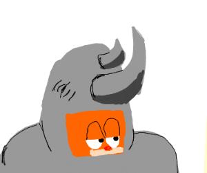 Garfield and rhino fusion.