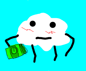 Even Clouds have to pay taxes
