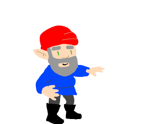 I'm a gnome! And you've been gnomed!
