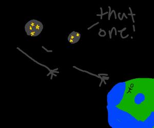 Space chooses an astronaut