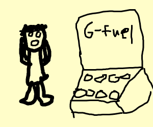 The G Fuel has been stolen!
